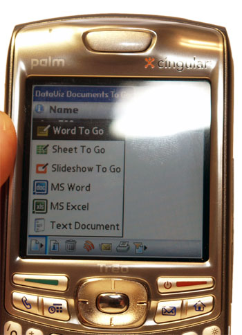 Docs To Go on Treo 680