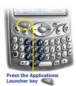 Treo Application Launcher