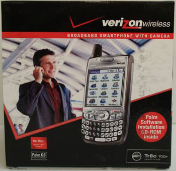 Verizon Treo 700p box pic