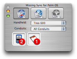Missing Sync for Palm OS