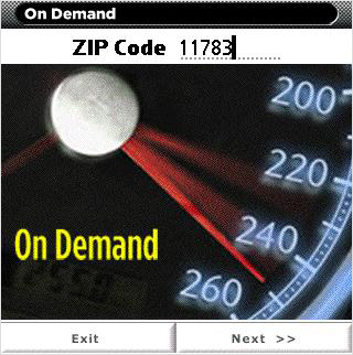 On Demand application on Treo 755p