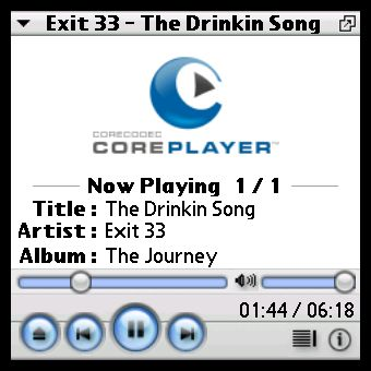 MP3 on CorePlayer