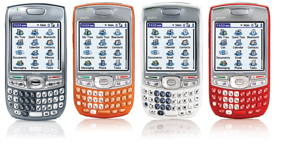 Cingular Treo 680 in colors