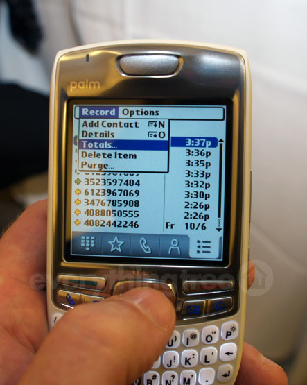 Treo 680 Call Features