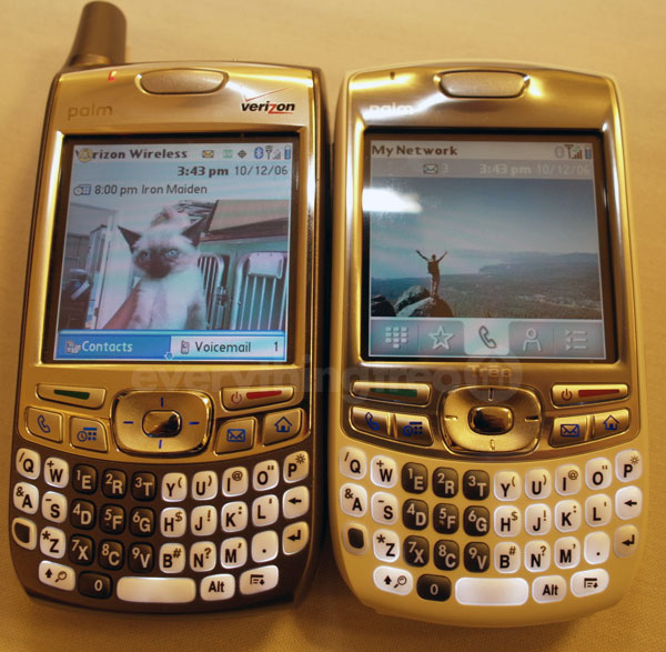 Palm Treo 700p and Treo 680