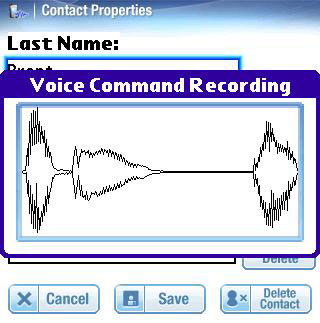 Voice Dial Wave on Treo