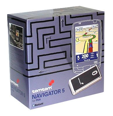 TomTom Navigator 5 GPS for Treo 650
