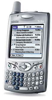 Treo with Blackberry Connect