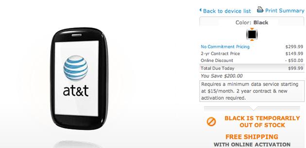 AT&T Palm Pre Plus