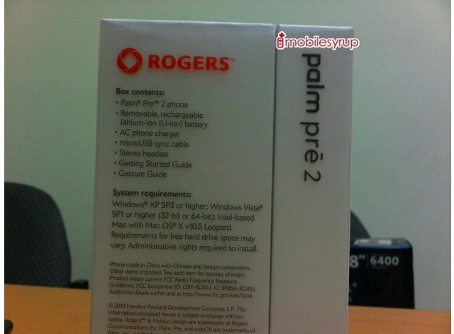 Rogers Palm Pre 2