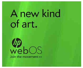 HP webOS art ad