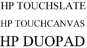 Touchpad, Touchcanvas, Duopad