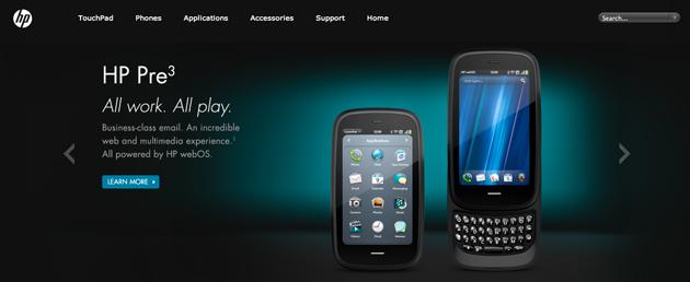 HP website