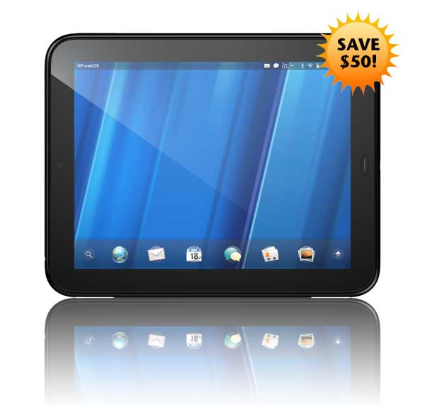 HP TouchPad savings