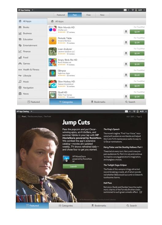 HP App Catalog