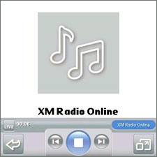 Stream XM Radio using 700p and Kinoma